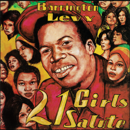 Barrington Levy - 21 Girls Salute (Jah Life / DKR) LP